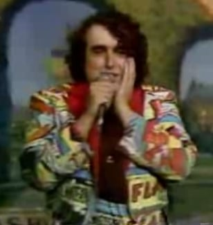 "Tiny Tim Sings ""Do Ya Think I'm Sexy?"" on the Tonight Show"