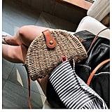 Joseko Crossbody Straw Bag
