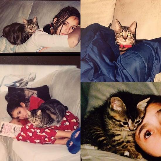 Nina Dobrev's Cat Dies