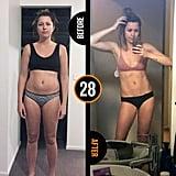 After nine months on the program Ashlee lost 6 kilograms.
