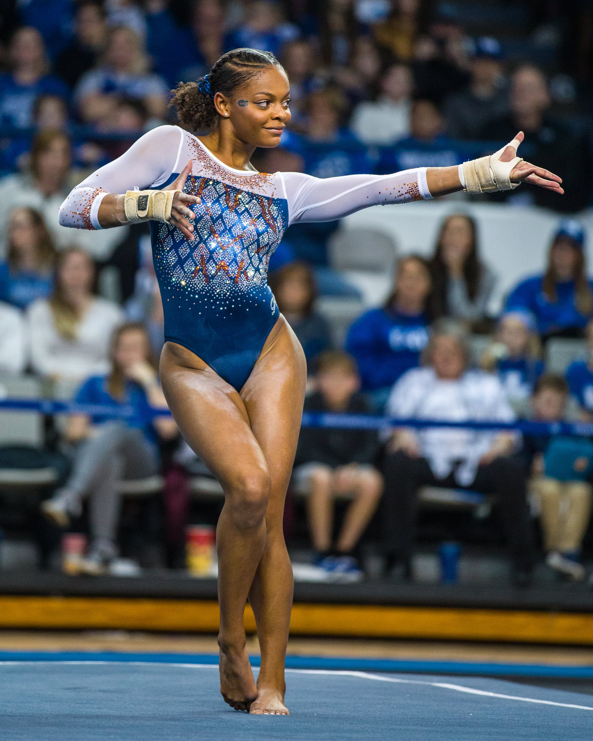 Trinity Thomas2020 Gator GymnasticsUniversity of FloridaJan. 31, 2020 - No. 2 Florida 197.80, No. 12 Kentucky 196.60