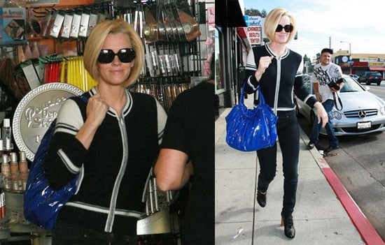 Jenny McCarthy Shops at Agent Provocateur