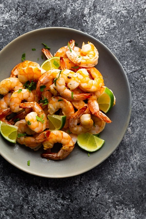 Honey Lime Air Fryer Shrimp
