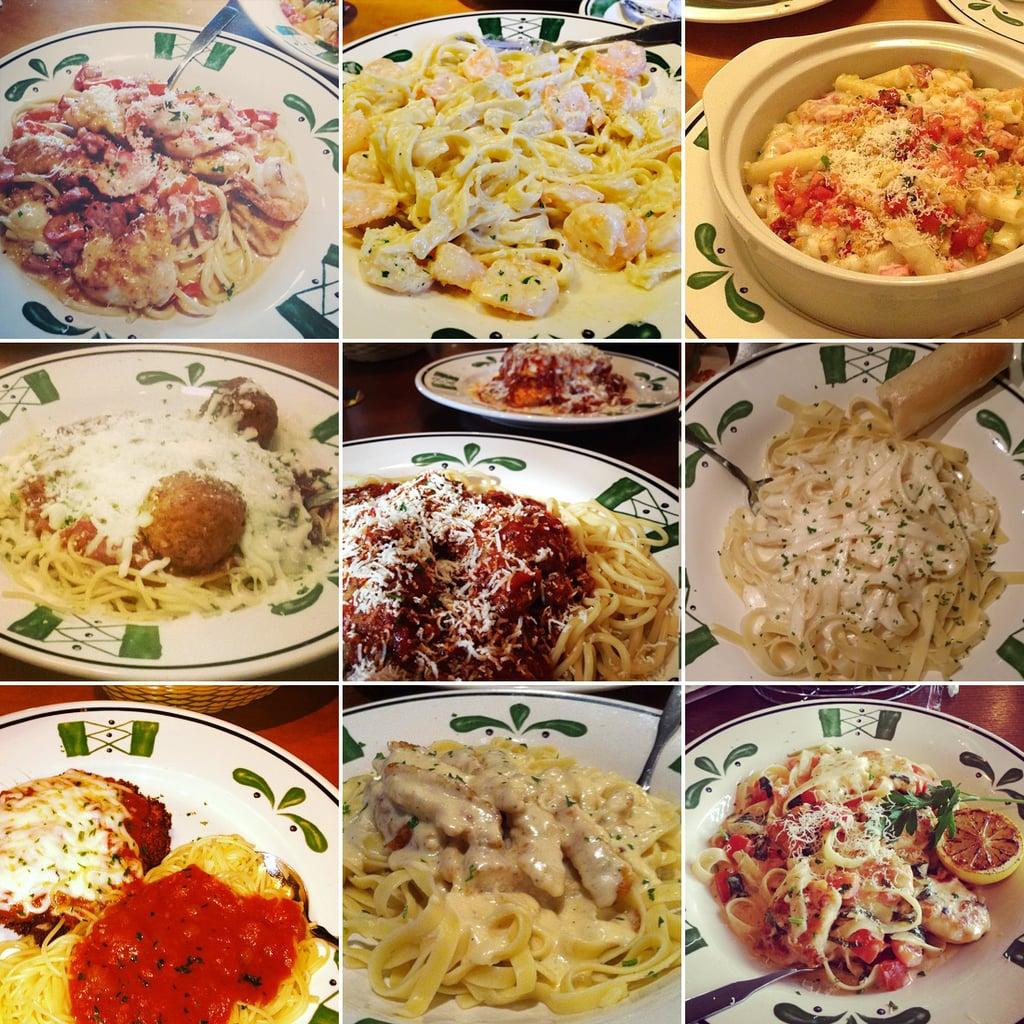 Olive Garden 99 Pasta Pass Popsugar Food