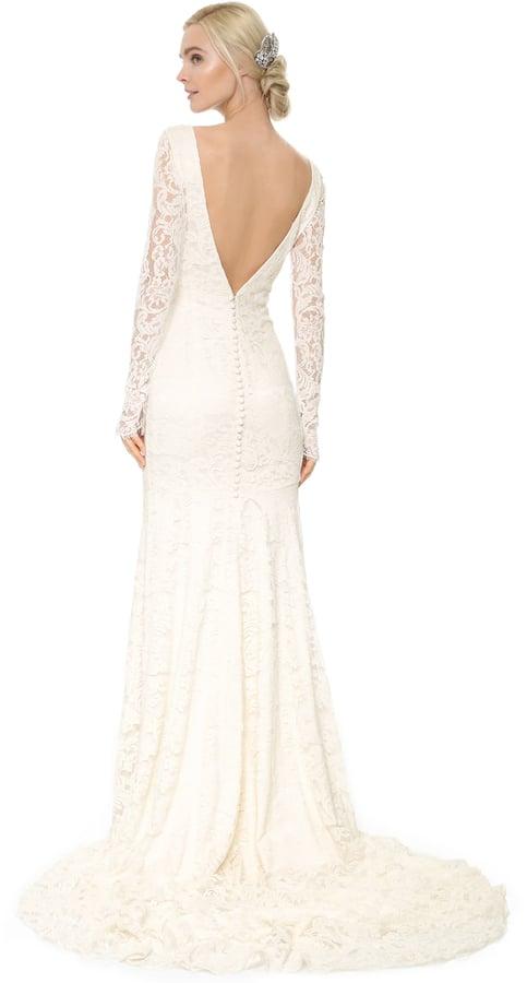 Theia Nicole Lace Gown ($1,495) | Modest Wedding Dresses | POPSUGAR ...