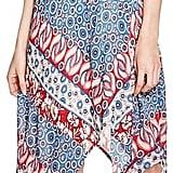 Aqua Batik Paisley Print High/Low Dress ($78)