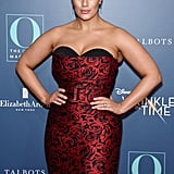 Ashley Graham's Red Michael Kors Dress For A Wrinkle in Time