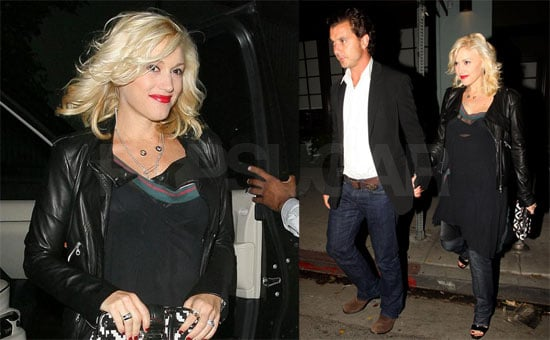 Photos of Gwen Stefani and Gavin Rossdale Celebrating Their Sixth Anniversary With Dinner at Osteria Mozza Italian Restaurant