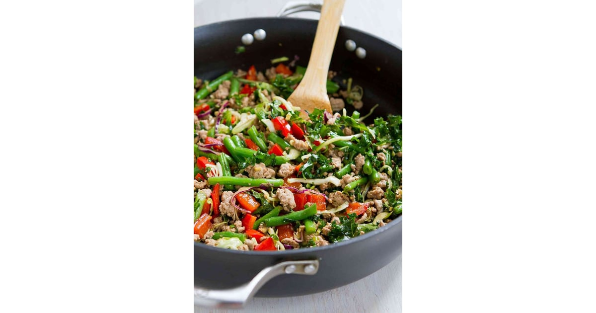 Ground Turkey Stir-Fry with Green Beans and Kale | Best ...