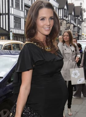 Picture of Danielle Lloyd Who Gave Birth To Son Archie O'Hara Today In London's Portland Hospital