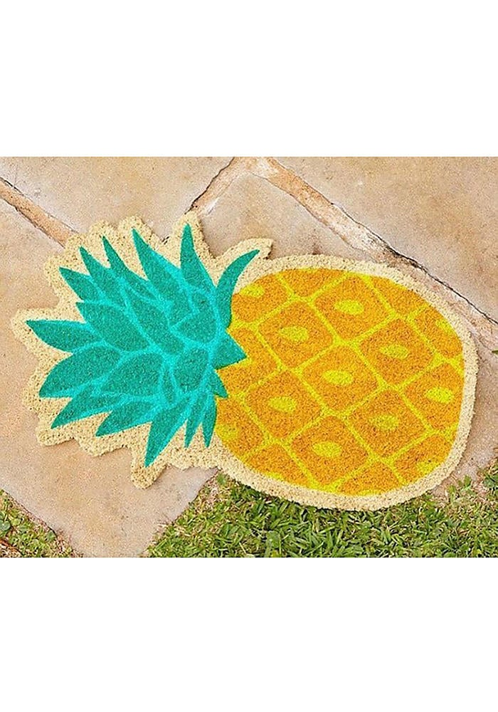 This pineapple mat will have everyone stopping at your door to take a photo for Instagram. SunnyLife Pineapple Doormat ($35)