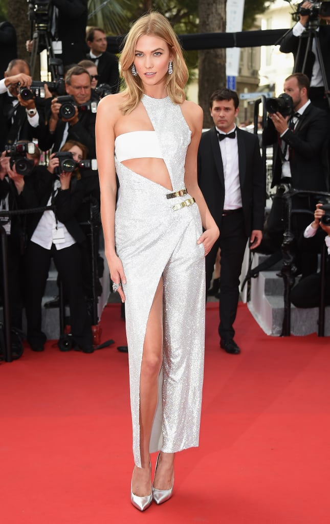 In 2015, Karlie Kloss hit the red carpet — her racy Atelier Versace look was actually a jumpsuit!