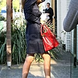 Miranda Kerr Shows Off Her Legs and Heads to Work in Australia