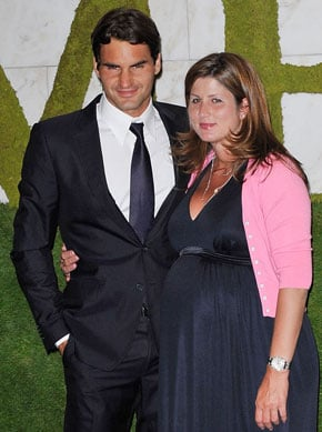 Roger Federer Has Twin Girls