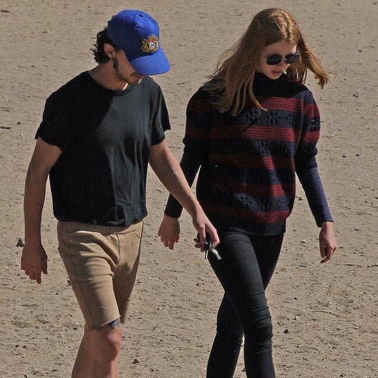 Shia LaBeouf and Mia Goth Out in LA October 2016