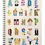 Disney Alphabet Mania Notebook ($14)