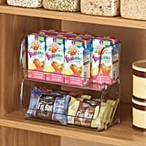 mDesign Small Household Stackable Plastic Food Storage Organizers