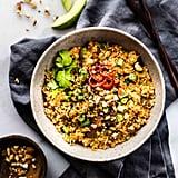 Thai Cauliflower Rice Salad With Avocado Cream Dressing