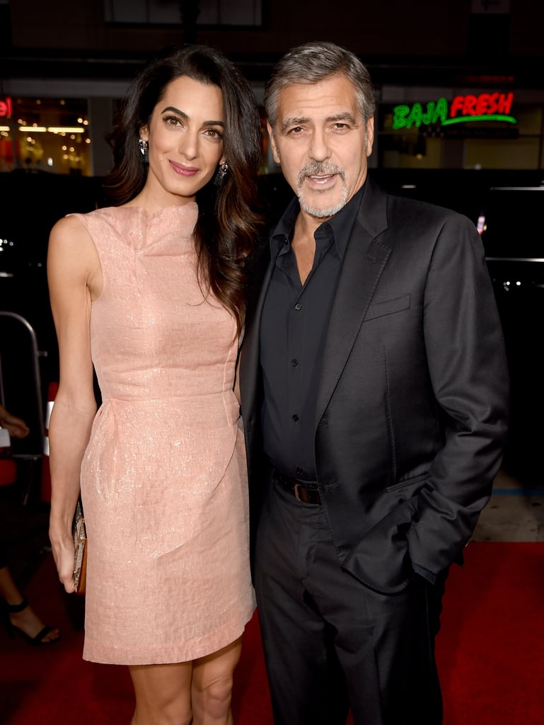 Cutest Moments From Amal and George Clooney in 2015