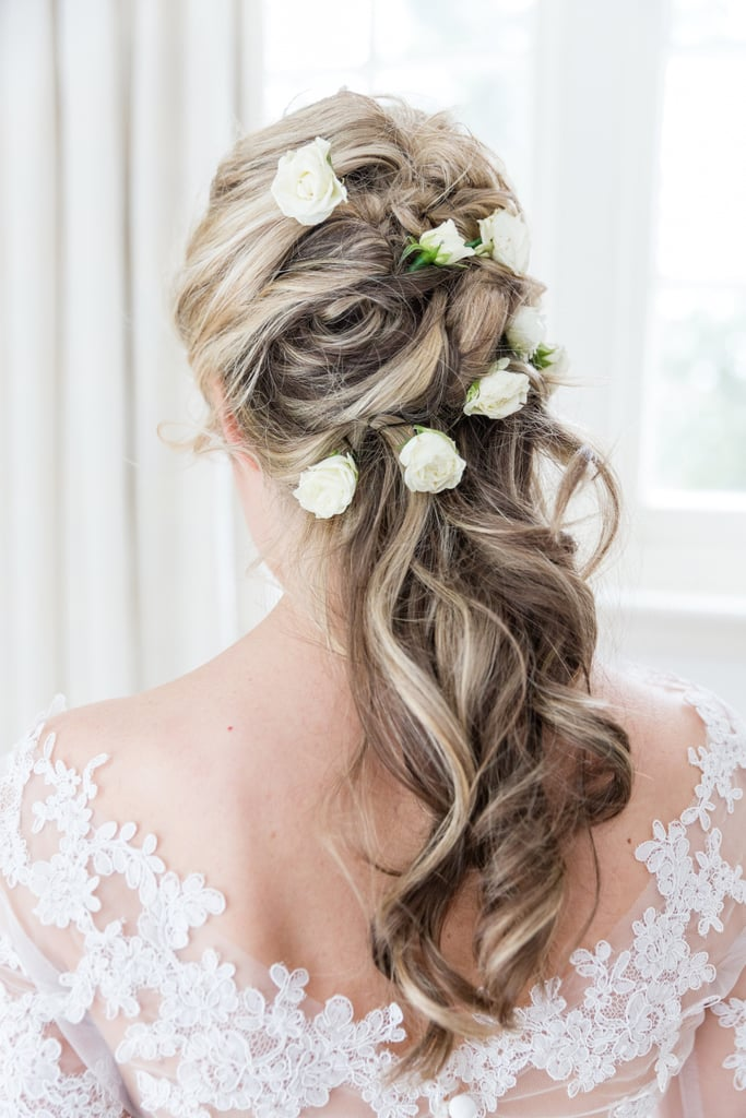 This Real Bride Went For Total Elegance With 1 Cool Twist