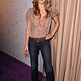 AnnaLynne McCord got flirty for photographers.
