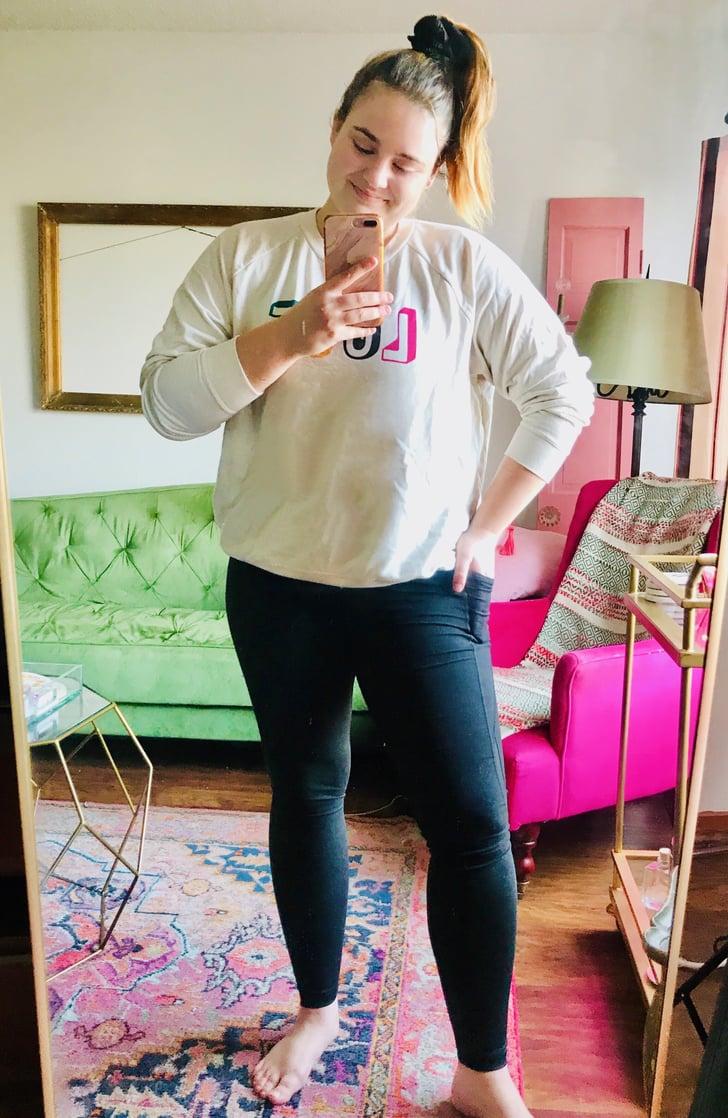 Old Navy Black Leggings Editor Review 2020 Popsugar Fitness