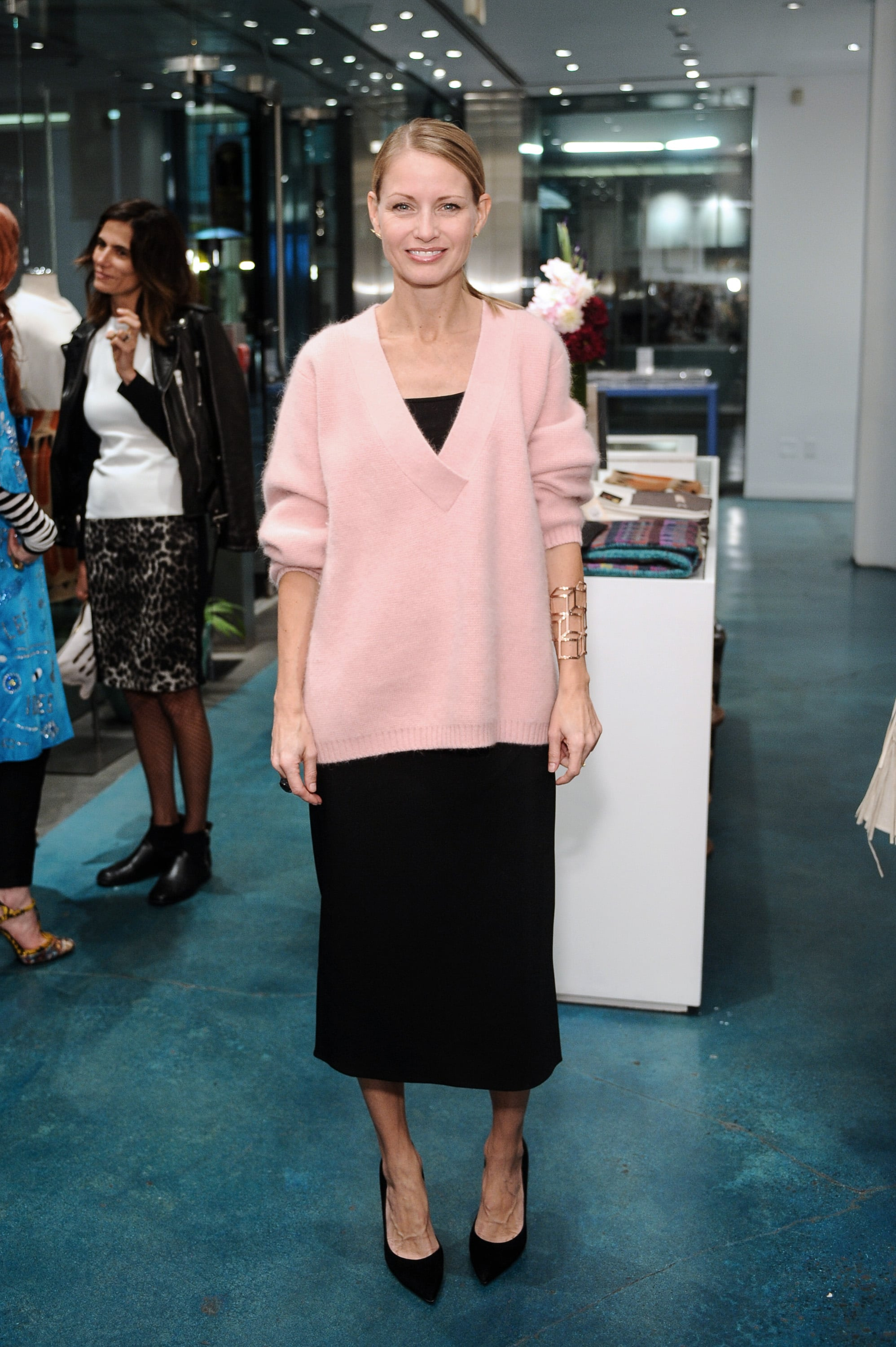Holli Rogers at LACMA's Director's Circle and Net-A-Porter.com event.