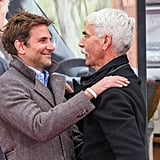 Lady Gaga Bradley Cooper at Sam Elliott's Handprint Ceremony