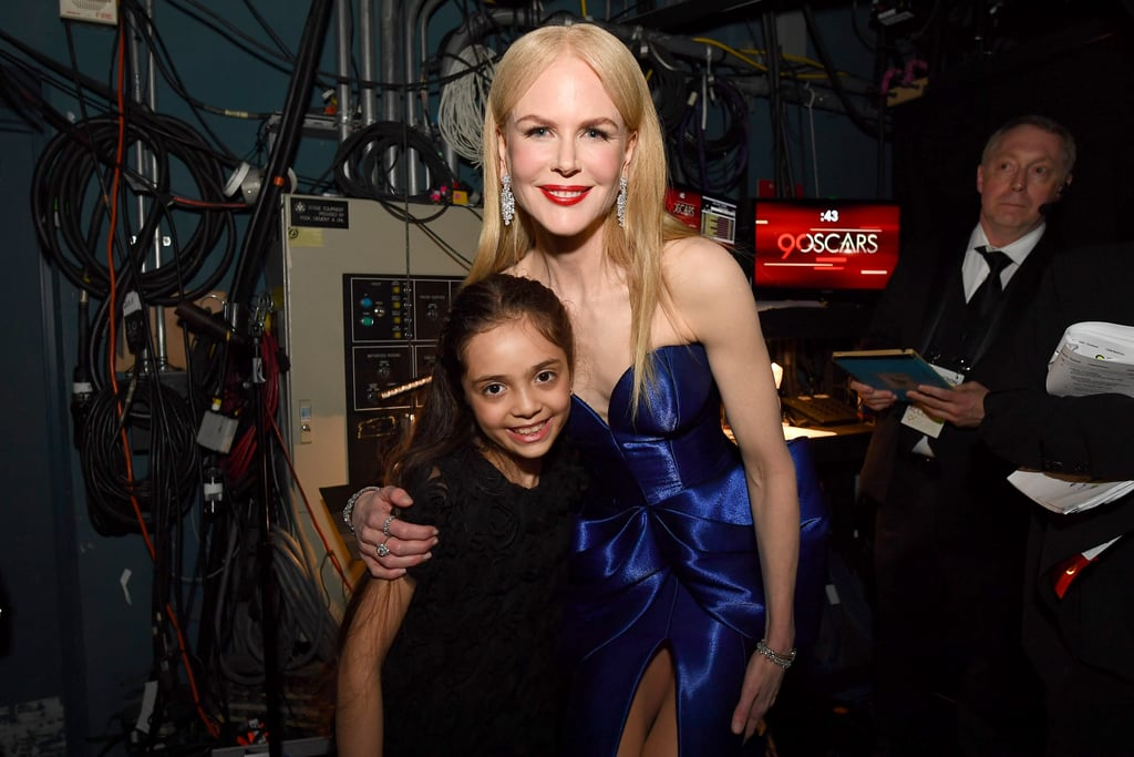 Pictured: Nicole Kidman and Bana Alabed