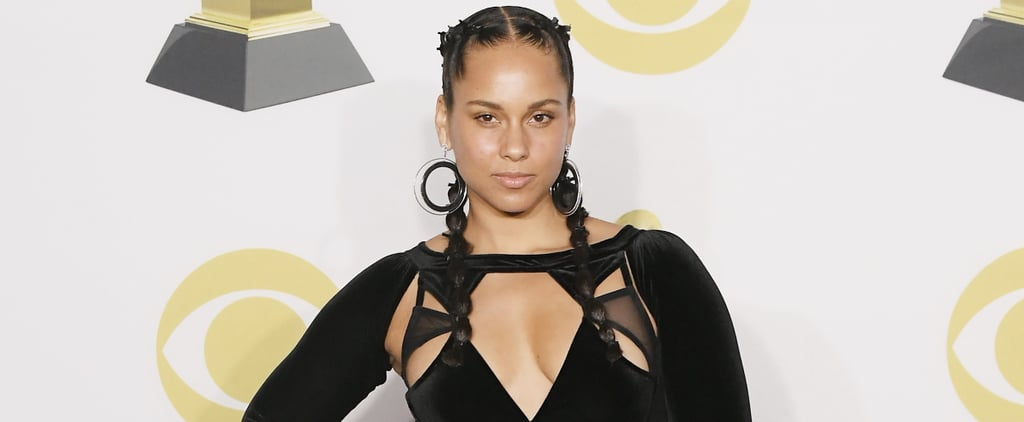 Alicia Keys's Braids at the Grammys 2018