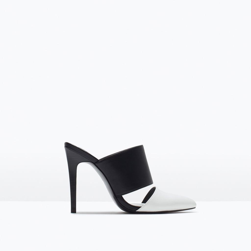 Zara High-Heeled Slingbacks ($50)
