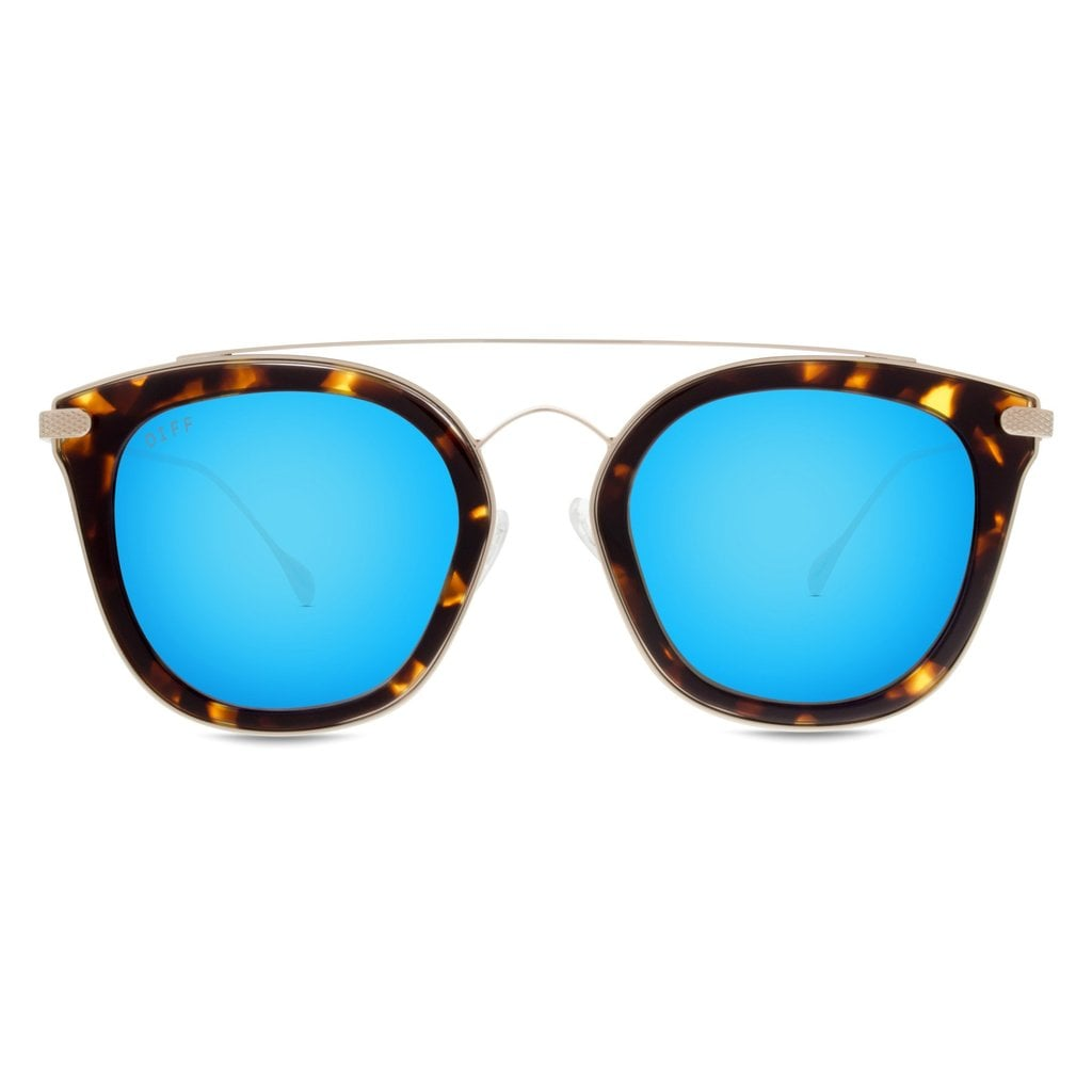 A pair of designer sunglasses to help others see