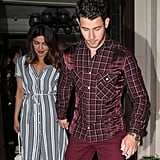 Take notes: this is how you do date night! Priyanka and Nick could write a book on how to keep looking cool as your relationship heats up.