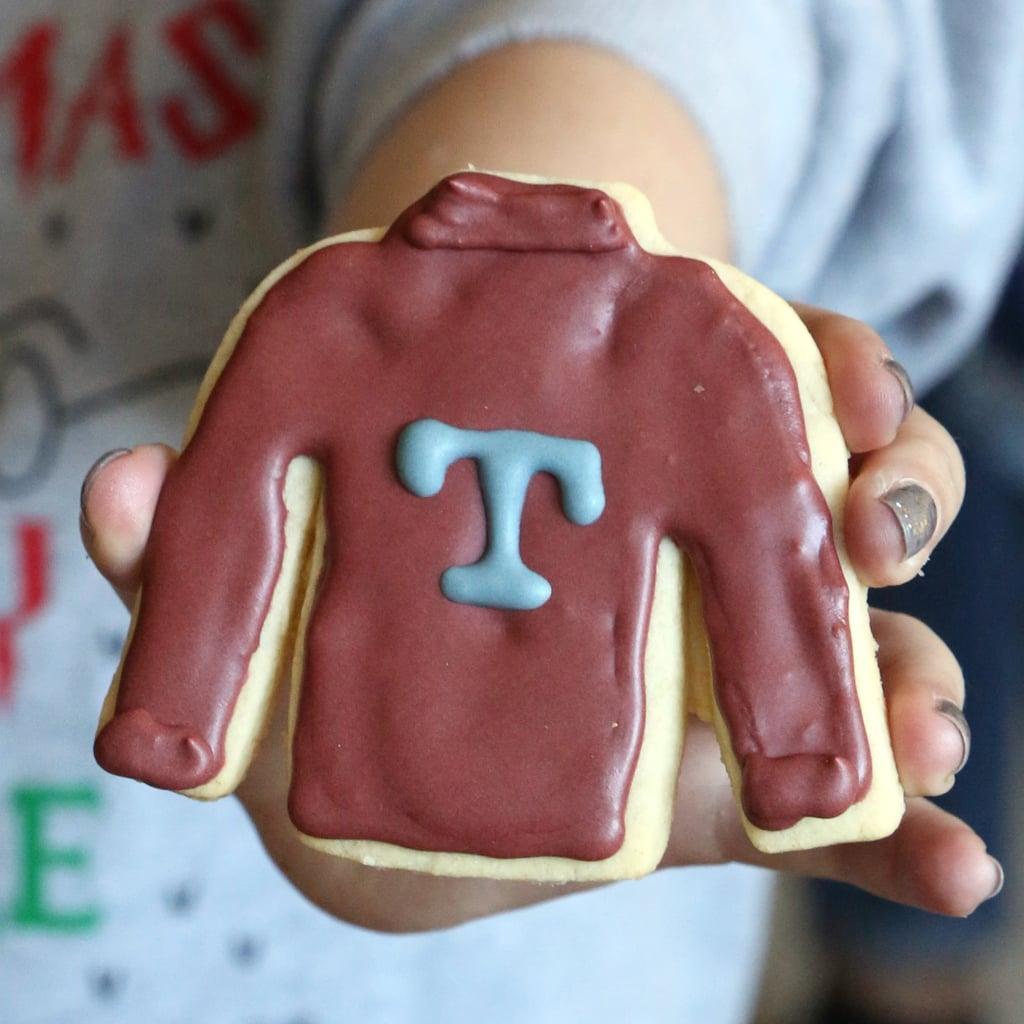 Mrs. Weasley's Ugly Christmas Jumper Cookies