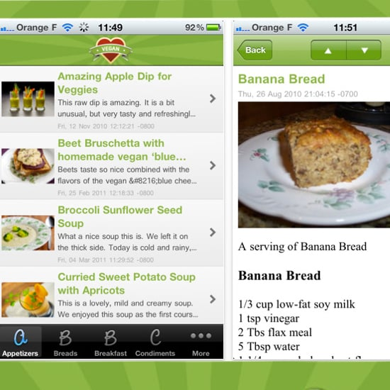 5 Useful Vegan Apps For Your iPhone
