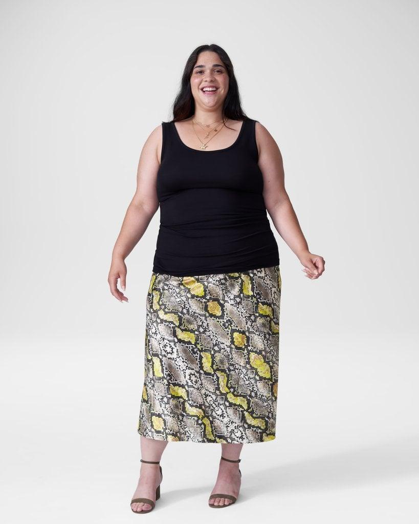 Universal Standard CeeCee Midi Bias Skirt