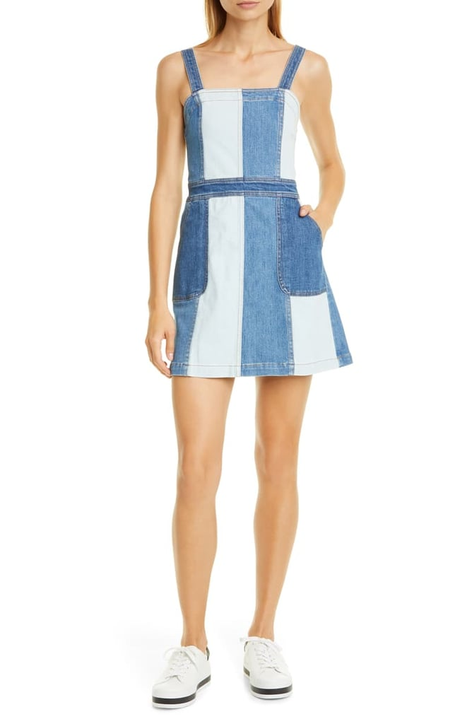 Alice + Olivia Jamiee Denim Minidress