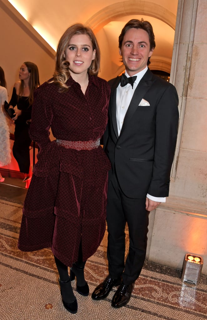 Princess Beatrice and her boyfriend Edoardo Mapelli Mozzi are stepping into the spotlight. The 30-year-old royal and the 34-year-old multimillionaire property developer made their first public appearance as a couple as they attended The Portrait Gala in London on Tuesday. Beatrice wore a red Alaia dress, while her beau looked dapper in a suit. The pair was all smiles as they made their way into the event and posed for a few photos inside. Kate Middleton, who is a patron of the National Portrait Gallery, also made an appearance at the event.  Beatrice and Edoardo first sparked dating rumours last November but reportedly started dating in September 2018. Beatrice was previously in a relationship with Dave Clark, but they split in 2016 after almost a decade of dating. While she might not be following in her sister Princess Eugenie's footsteps by walking down the aisle anytime soon, it's clear that things are getting pretty serious!       Related:                                                                                                           Look Back at 30 Years of Perfect Princess Moments From Beatrice of York