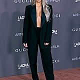 Kim Kardashian at the LACMA Art + Film Gala in 2017