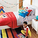 All Eyes Elmo Bedding ($11-$127, originally $14-$159) and Sesame Street Friends Pajama Set ($39)