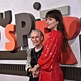 Dakota Johnson and Tippi Hedren at Suspiria Premiere 2018