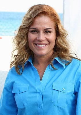 Lil Links: Iron Chef Cat Cora Welcomes Son
