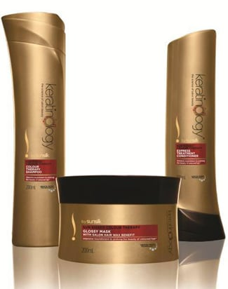 GIVEAWAY: WIN 1 of 5 Keratinology by Sunsilk Haircare Packs!