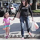 Jennifer Garner and Seraphina Affleck Shopping in LA