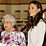 Kate and the Queen