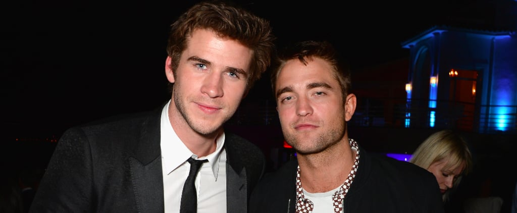 Robert Pattinson and Liam Hemsworth Let Loose at Vanity Fair's Cannes Bash