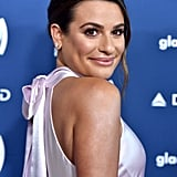 Lea Michele and Zandy Reich at the 2019 GLAAD Media Awards