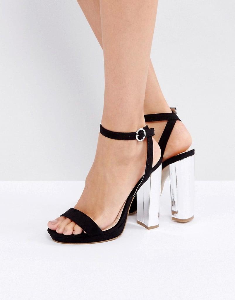 Coco Wren Platform Heel Sandal