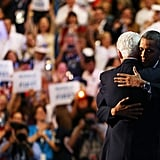 The Presidents Hug It Out
