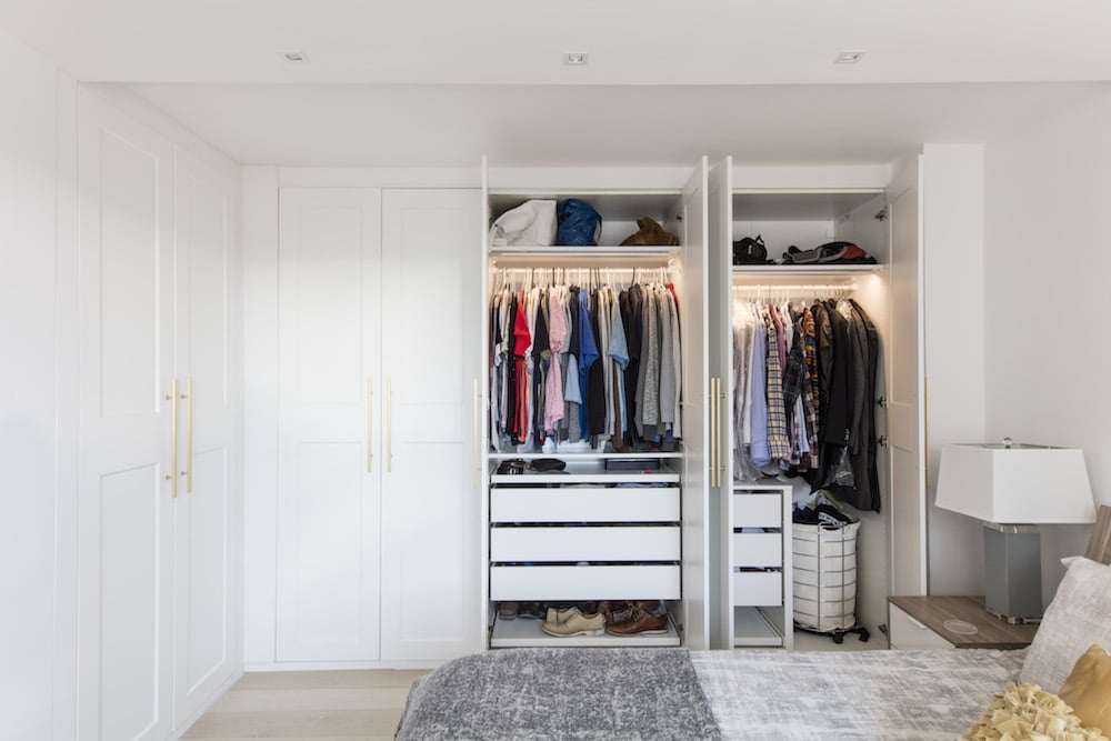 Led Motion Sensor Bedroom Closet 29 Pictures Of Beautiful Closets That Are Not A Want But A Need Popsugar Home Photo 8
